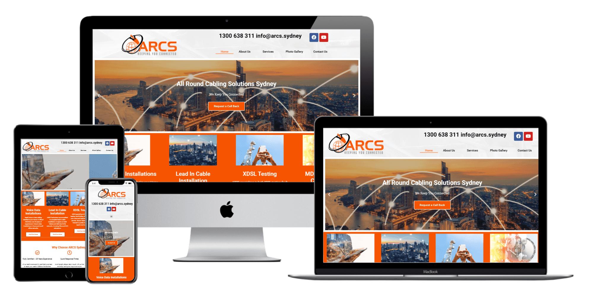 industrial website design